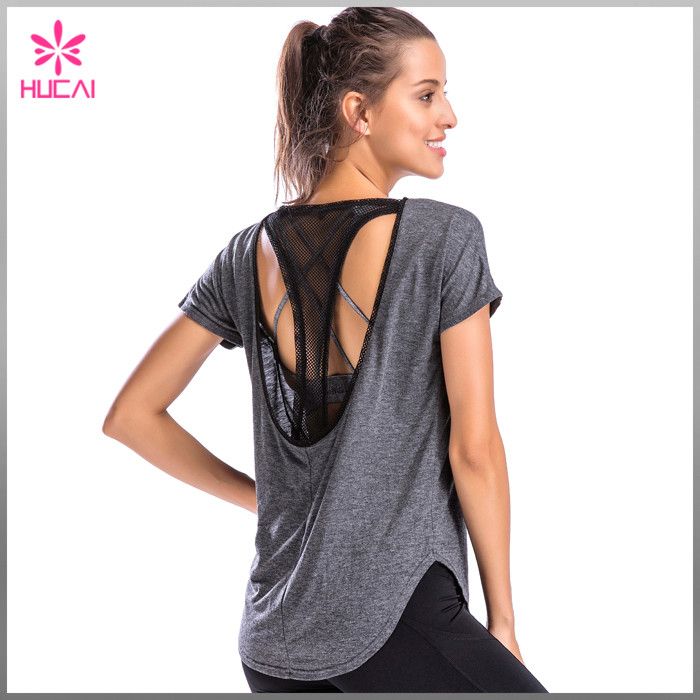 wholesale yoga tee shirts