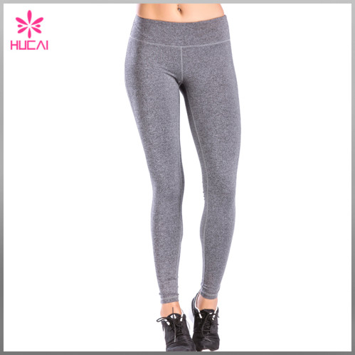b13d98b8a2 Full Length Nylon Spandex Gym Tights Leggings Dry Fit Yoga Pants Women