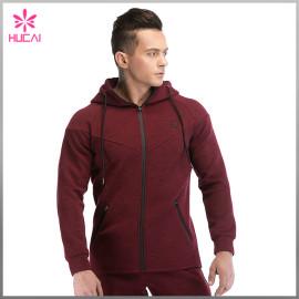 OEM Factory Gym Wear Custom Cotton Sports Fleece Hoodie Men