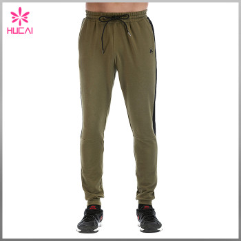 Wholesale Jogger Streetwear Men Custom Track Pants With Stripe