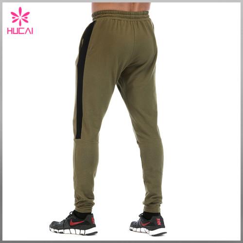 Wholesale Jogger Streetwear Men Custom Track Pants With Stripe