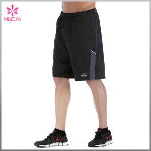 Wholesale 100% Polyester Gym Clothing Dry Fit Mens Running Shorts