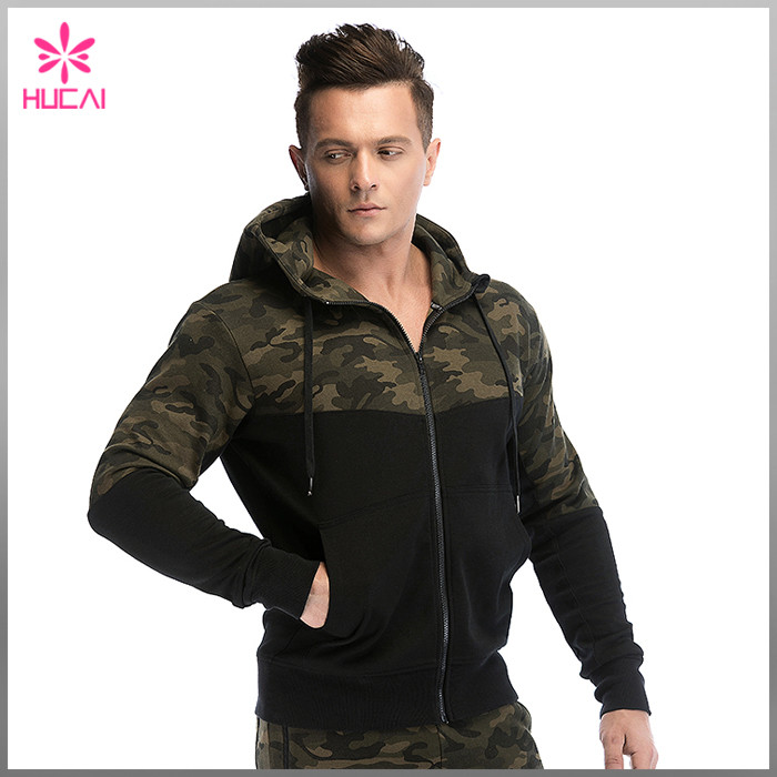 wholesale blank camo hoodies