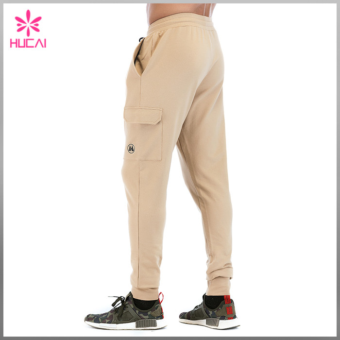 Track Sweat Pants With Side Pocket