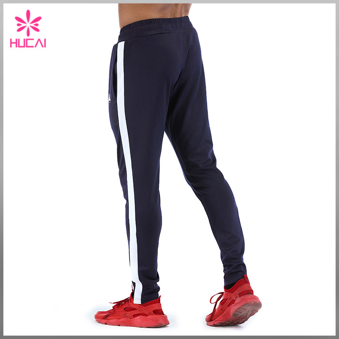 mens track pants with stripe wholesale
