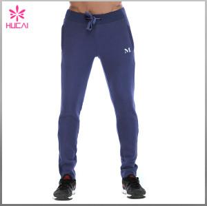 High Quality Track Sweatpants Men Slim Fit Tapered Streetwear Pants