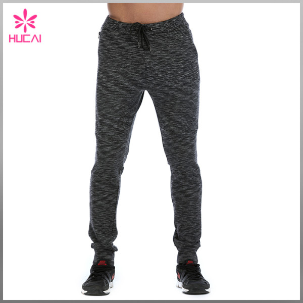 Custom Blank Joggers Cotton Polyester Men Tapered Fleece Sweat Pants