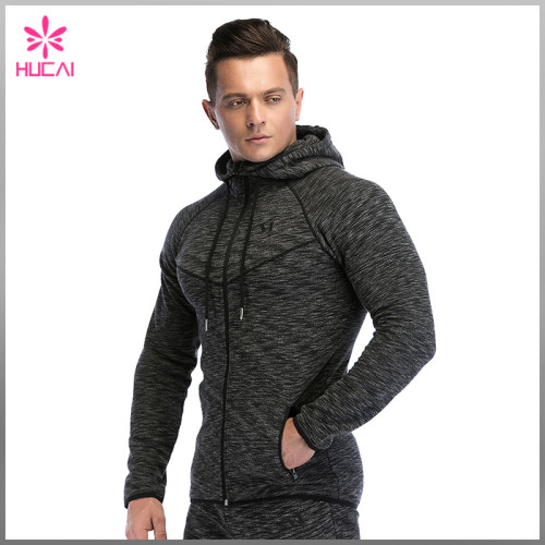 Fashion Design Track Hoodies Cotton Polyester Mens Street Hoodie Workout