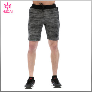 Wholesale Cotton Polyester Mens Fleece Sweat Shorts Bulk Sale Cheap