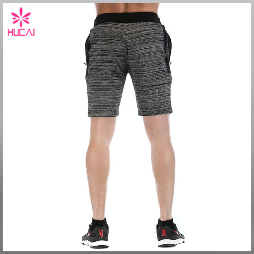 Wholesale Cotton Polyester Mens Fleece Sweat Shorts Bulk Sale Cheap