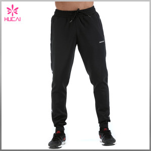 Custom Jogger Cheap Streetwear Sweatpants With Stripe Mens Wholesale