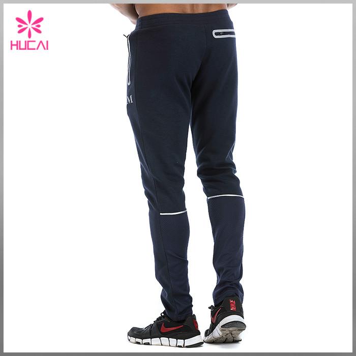 Mens Jogger Pants With Zip Pocket