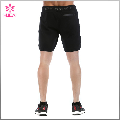 Custom Gym Pants Wholesale Blank Sweat Shorts Mens Outfit