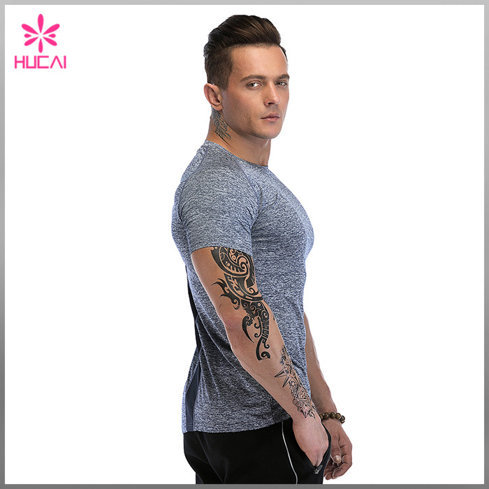 plain muscle fit t shirts wholesale