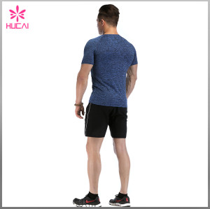 Cheap Custom Dry Fit Raglan Sleeve Mens Compression T Shirt Running