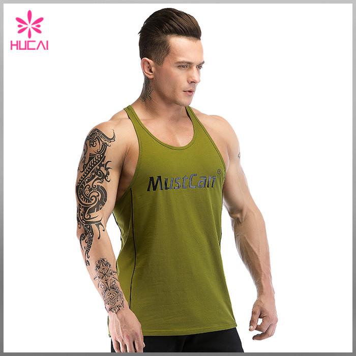 Bloggers As Cheap Stringers >> Wholesale Dry Fit Plain Custom Gym Stringer Vest Cheap Hucai
