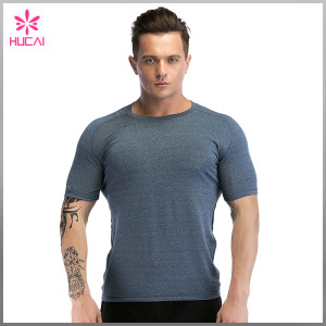 Custom Mesh Workout Clothing Dry Fit Mens Training Apparel T Shirts
