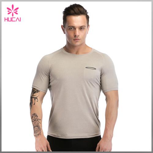 Custom Bodybuilding Fitness Clothing Dry Fit Mens Training T Shirt Gym