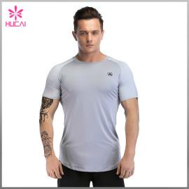 Wholesale Gym Clothes Dry Fit Plain Bodybuilding T Shirts Cheap