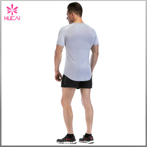 Wholesale Gym Clothes Dry Fit Plain Bodybuilding T Shirts Cheap