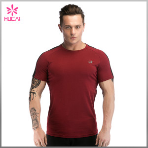 Custom Gym Clothing Dry Fit Muscle T Shirt Men Wholesale