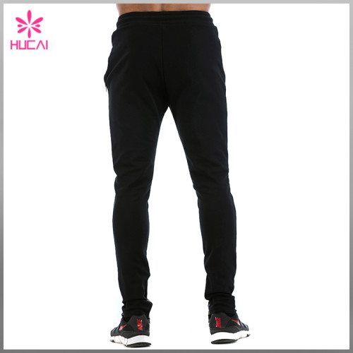 Wholesale Cotton Polyester Jogger Pants Mens Slim Fit Track Sweatpants