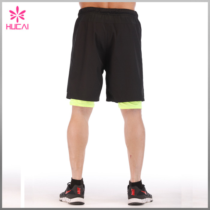 Gym Shorts With Lining