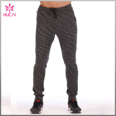 Wholesale Cotton Polyester Sweat Pants Custom Mens Gym Joggers