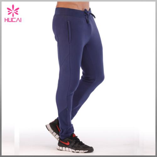 Wholesale Running Sweat Pants Slim Fit Mens Sports Trousers