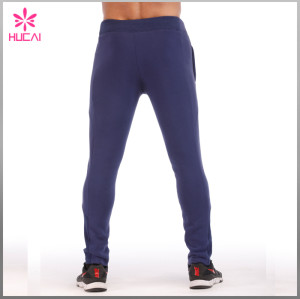 Wholesale Running Sweat Pants Slim Fit Mens Sports Trousers