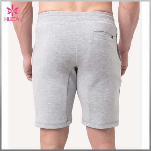 Custom Tapered Gym Wear Men Wholesale Blank Sweat Shorts