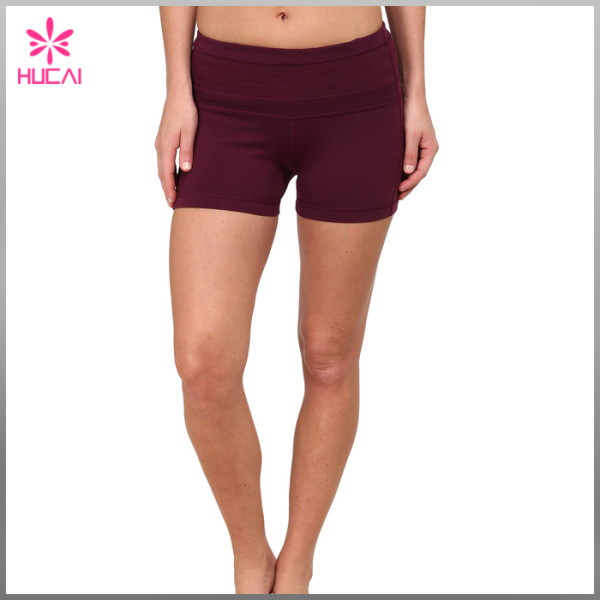 OEM Factory Yoga Wear Gym Clothing Wholesale Fitness Shorts Women