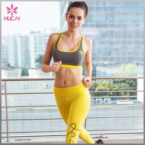 Wholesale Women Yoga Wear Sports Bra Criss Cross Strappy Crop Top