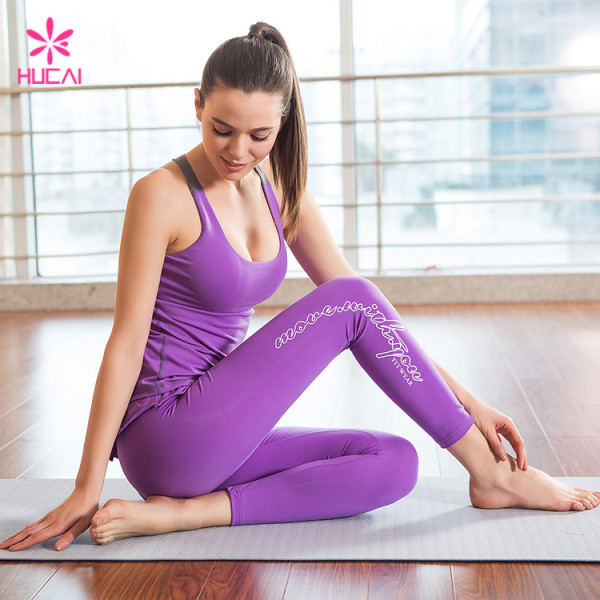 Custom Nylon Spandex Sportswear Dry Fit Women Active Sports Wear