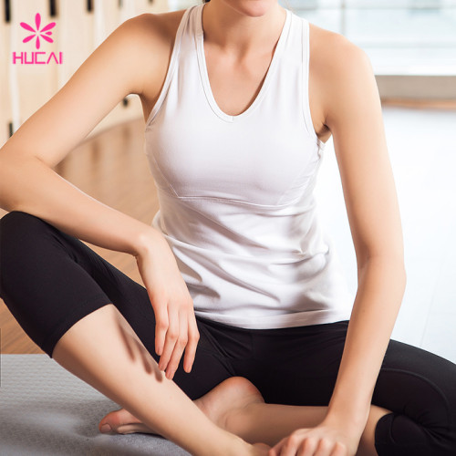 Wholesale Leggings And Tank Top Set Sexy Fitness Yoga Wear For Women