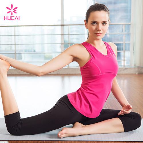 Custom Dry Fit Sports Yoga Wear Slim Fit Private Label Women Fitness Wear
