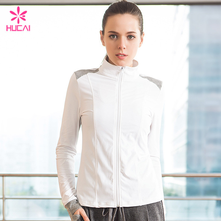 Quick Dry Fitness Jacket
