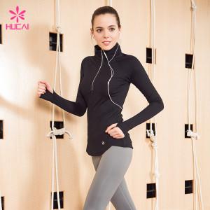 Custom Slim Fit Jacket Women Wholesale Sports Apparel Manufacturer