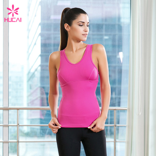 Wholesale Sports Wear Clothing Dry Fit Racerback Bodybuilding Active Tank Top