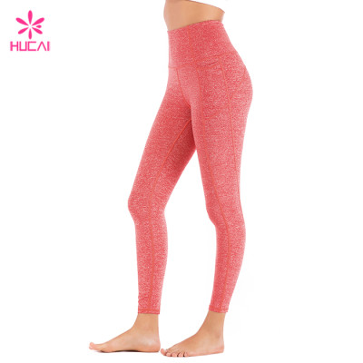 Wholesale Dry Fit Gym Tights Full Length Custom Athletic Leggings For Women