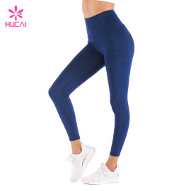 Cheap Wholesale Gym Leggings High Waist Dry Fit Women's Athletic Tights