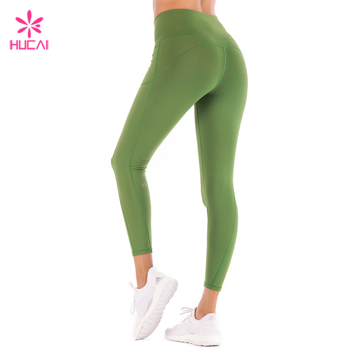 Green Workout Tights