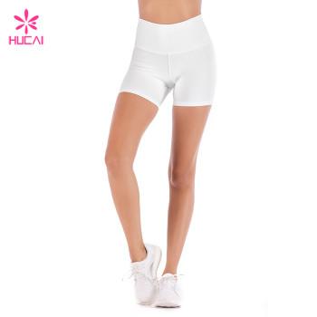 Wholesale Yoga Wear Dry Fit Women Scrunch Booty Shorts Leggings