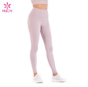 China Factory Nylon Spandex Leggings Wholesale Supplier Custom Yoga Pants Manufacturer