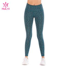 Wholesale Supplier Space Dye Leggings Dry Fit Women Yoga Wear Manufacturer