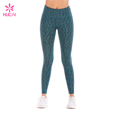 Wholesale Supplier Space Dye Leggings Dry Fit Women Yoga Wear Manufacturer