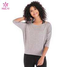OEM China Factory Modal Spandex Yoga Wear Women Custom Wholesale Gym Clothing Manufacturer