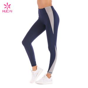 Wholesale Supplier Yoga Wear Nylon Spandex Custom Fitness Tights Manufacturer Women