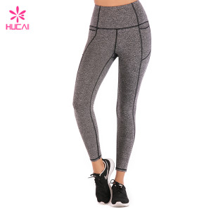 Wholesale Manufacturer Yoga Leggings Nylon Spandex Women Custom Compression Tights Supplier