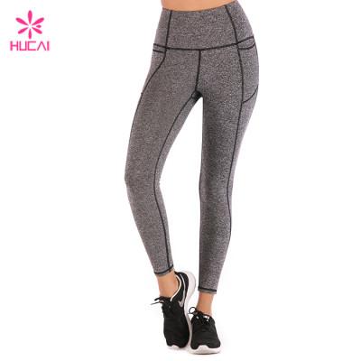 Wholesale Manufacturer Yoga Leggings Nylon Spandex Women Custom Compression Tights Supplier
